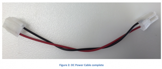Cable, Console Internal - DC Power